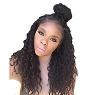 8a třída 130 hustota dlouho krajky vpředu paruka lidský vlas s dítětem vlasy kudrnaté vlasy paruka odbarvené uzlů