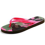 Women's Summer Flip Flops / Open Toe Synthetic Casual Flat Heel Yellow / Red / Beige