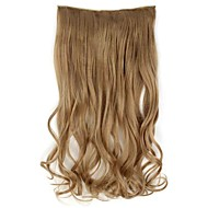 20 cm Long synthétique clip ondulés dans les extensions de cheveux avec 5 clips - 17 couleurs disponibles