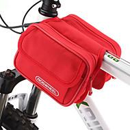 ROSWHEEL® Sykkelveske 1.7LVesker til sykkelramme Vanntett Glidelås / Fukt-sikker / Støtsikker / Anvendelig SykkelveskePVC / Klede /