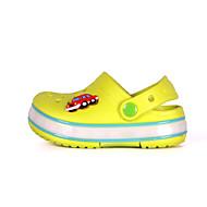Para Meninos-Chinelos e flip-flops-Plástico-Rasteiro-Azul / Verde / Rosa-Sintético-Ar-Livre / Casual / Para Esporte