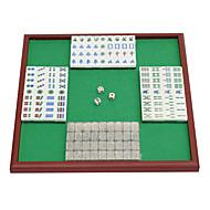 Royal St. miniatűr kristály Mahjong Mahjong Mahjong turizmus 20 mm elefántcsont + + u láb összecsukható asztal