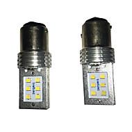 2 pcs hyun dai-cauda lâmpada especial do carro levou luz de nevoeiro 6w 12 LED SMD de freio de carro lâmpada de sinal da volta de carro