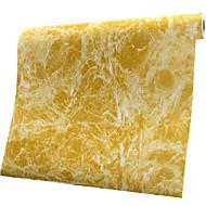 0.6*1M Refurbished Sticker Waterproof Cabinet Wardrobe Stickers Rose Aurora Marble Adhesive Wallpaper