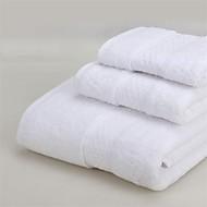 Badehåndklæde Sæt Som På Billede,Solid Høj kvalitet 100% Bomuld Håndklæde