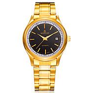 WEGUAN Gold Automatic Mechanical Watch Business Watch Men's Mechanical Watches Calendar 8304