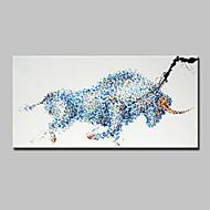 Handgemalte Tier Horizontal,Modern Ein Panel Leinwand Hang-Ölgemälde For Haus Dekoration