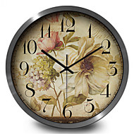 Mute Antique Jewelry Home Furnishing Quartz Wall Clock