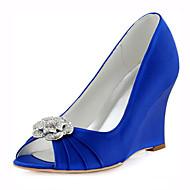 Žene-Vjenčanje Cipele-Cipele na petu-Vjenčanje / Formalne prilike / Zabava i večer-Pune pete-Plava / Ružičasta / Navy Plava