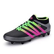 Men's Boys Football Boots AG Spike Microfiber Cleats Teenagers Profession Athletics Ultralight Medium cut Soccer Shoes