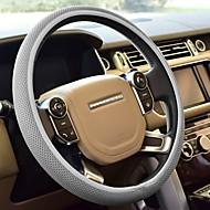 1pcs universal atmungsaktiv Auto Lenkradabdeckung 100% Polyester Schwamm Abdeckungen für steerig Rad Auto-Styling
