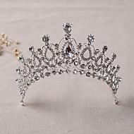 Women's Rhinestone / Alloy Headpiece-Wedding / Special Occasion Tiaras 1 Piece Clear Irregular