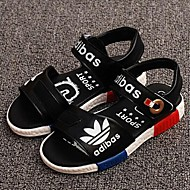 Boy's Sandals Summer Comfort / Open Toe / Sandals Leatherette Casual Flat Heel Others Black / Yellow