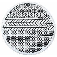 "1PC Full Cotton Beach Towel 59"" by 59"" Geometry Pattern Super Soft"