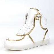Women's Shoes Colorful LED Shoes Comfort / Round Toe /  Party& Outdoor / Casual Shoes