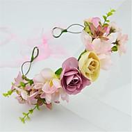 Women's Fabric Headpiece-Wedding Headbands 1 Piece  Flower 60cm