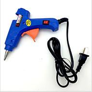 DIY Haarzusatz Materialien für die manuelle Hochtemperatur-Typ-Schalter, Heißkleber Pistole