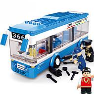 Építőkockák Ajándék Építőkockák Építő játékok Busz / / Műanyag fent 3 Barna Játékok