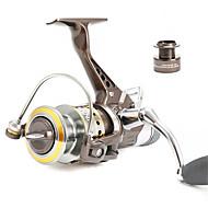 Smékací navíjáky 5.0/1 10 Kuličková ložiska Vyměnitelný Bait Casting / Obecné rybaření-BR5000 Fishmore