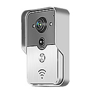 Smart WiFi Video Doorbell for Smartphones & Tablets, Wireless Video Doorphone, IP Wi-Fi Camera