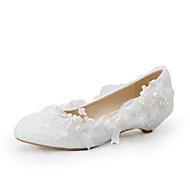 Women's Shoes Wedge Heel Wedges Heels Wedding / Party & Evening / Dress White