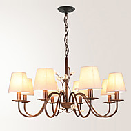 LightMyself  8 Lights Chandelier  Modern/Contemporary Painting Feature for Bedroom / Dining Room