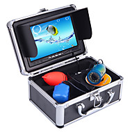 """30 M Professional Fish Finder Sous-Marine Pêche Caméra Vidéo 7 """"Couleur HD Moniteur 1000TVL HD CAM W/Pare-Soleil"""