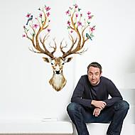 Animali / Natale / Vacanze Adesivi murali Adesivi aereo da parete / Adesivi  a parete specchio Adesivi decorativi da parete,pvc Materiale