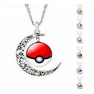 Ожерелье Ожерелья с подвесками Бижутерия Серебряный Сплав Повседневные 1шт Подарок