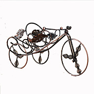 אופני צורת ברזל יצוק יין מתל