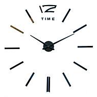 Módní a moderní / Neformální Rodina Nástěnné hodiny,Kulatý / Novinka Akryl / Kov / Nerez 50 Indoor / Outdoor / Vevnitř / Outdoor Hodiny