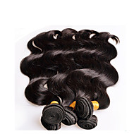 "10Pcs 1Kg Lot Wholesale Peruvian Virgin Hair Body Wave 10""~28"" 6A Unprocessed Human Hair Extensions Weft Color1B"