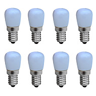 3W E14 Luzes de LED em Vela B 1 COB 160 lm Branco Quente / Branco Frio Decorativa AC 220-240 V 8 Pças.