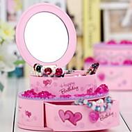 Cake Shape Plastic Music Box