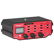 SR-AX107 אדום 9V Battery מיקרופון סטודיו