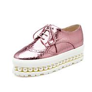 dámské boty pu pád platforma / popínavé rostliny / kolo špičkou Oxfords kancelářské&kariéra / šaty / neformální platforma imitace