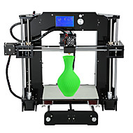 anet a6 nieuwe versie fdm desktop diy 3d printer (adjustbale spanning / montage-instructies in sd-kaart)