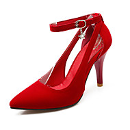 Women's Spring / Summer / Fall Heels Leatherette Office & Career / Dress / Casual Stiletto Heel Others Black / Blue / Red