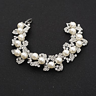 Women's Chain Bracelet Alloy Rhinestone