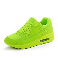Dame-Tyll-Flat hælFlate sko-Sport-Svart Grønn Rød