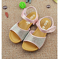 Girl's Sandals Summer Comfort Glitter Casual Pink Silver