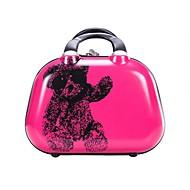 Unisex Metal Outdoor Luggage Pink / Green / Silver / Fuchsia