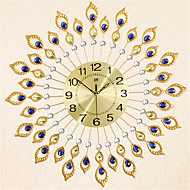 Модерн Прочее Настенные часы,Круглый Металл Часы