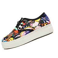 Women's Shoes PU/Spring/Summer/Fall/ Winter Platform/Comfort / Round Toe Sneakers/Clogs & Mules Casual
