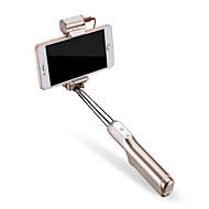 Selfiestang Bluetooth Uttrekkbar med Selfiestang Kabel til