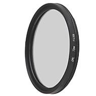 Emoblitz 72mm CPL Circular Polarizer Lens Filter