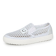 Women's Shoes Tulle Summer Round Toe Flats Casual Flat Heel Others White