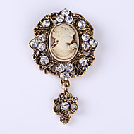 Fashion Vintage Wedding Party Casual Brooches For Women Ladies