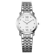 Bestdon® Fashion Stainless Steel Water Resistant Rhinestone Simple Design Vintage Fashion Wristwatch