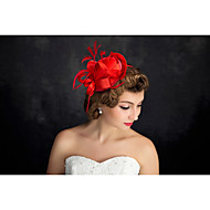 Women's Feather / Flax Headpiece-Special Occasion Fascinators 1 Piece
